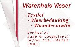 V.O.F. Visser Woontextiel in Zwagerbosch